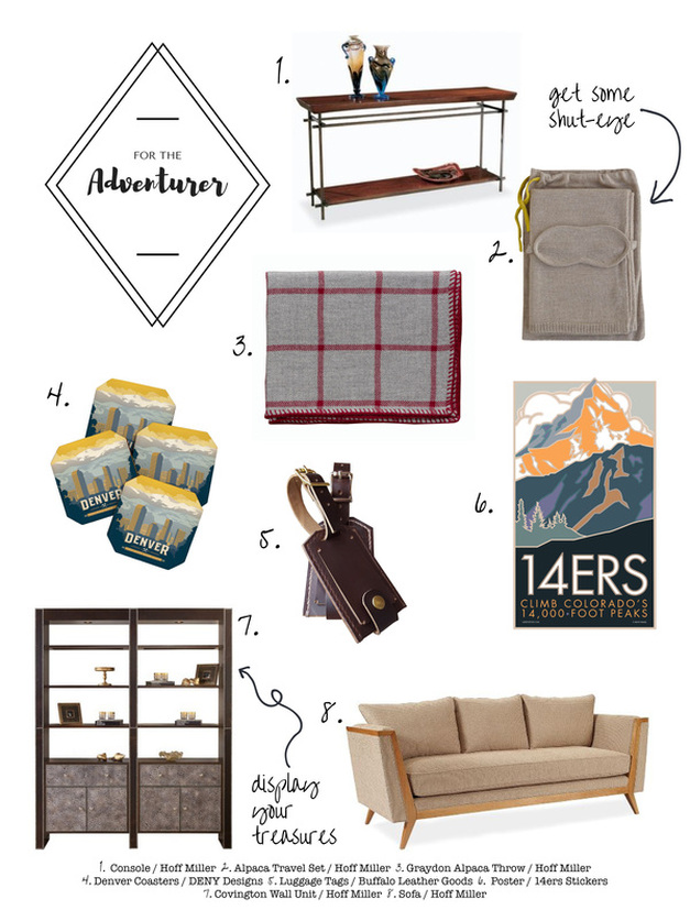 For the Adventurer :: Hoff Miller Gift Guide