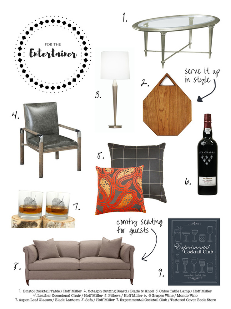 For the Entertainer :: Hoff Miller Gift Guide