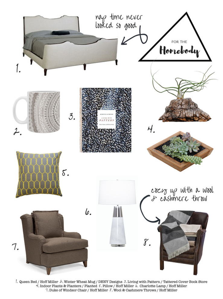 For the Homebody :: Hoff Miller Gift Guide